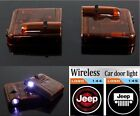 1 Pair Wireless Car Door Decoration Light Ghost Shadow LED Welcome Laser Lamp
