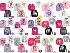 Girls Kids Disney Character Long Sleeve T-Shirt Top age 2-12 year  Xmas gift image