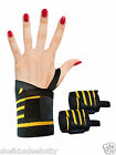WEIGHT LIFTING TRAINING FITNESS WRIST SUPPORT COTTON WRAPS BANDAGE STRAPS 12""
