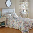 French Countryside Water Colors Bedroom Bed Spread / Curtain / OR Sham BY CHOICE image