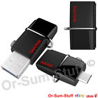 SanDisk 32,64,128GB USB 3.0 Ultra Dual OTG Micro USB Flash Memory Stick Samsung