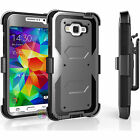 Samsung Galaxy Core Prime Prevail LTE G360 Hybrid Hard Case Cover Clip Holster