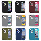 Heavy Duty Shockproof Defender Case Cover Skins For APPLE iPhone 4 4S