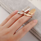finger nail ring metal gold Knuckle Jewelry accessories trendy rings party