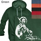 MEN'S PULLOVER HOODIE JIMI HENDRIX ROCK GUITAR HERO #104 S to 4XL PLUS