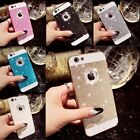 Luxury Bling Glitter Crystal Diamond Case Cover For iPhone 4S 5S 6 6S Plus