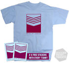 Cult West Ham 1970's Retro Football T-Shirt Design All Sizes + 2 x FREE Stickers