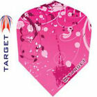 TARGET VISION PINK GARDEN 100 Micron DART FLIGHTS - Choose number of sets !