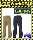 Bisley Workwear 8 Pocket Cargo Cotton Drill Work Trousers Pants Clothing BPC6007