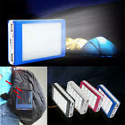 New 100000mAh Camping LED Solar Power Bank External Battery Charger For Phone