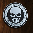 SKULL U.S. Mercenary Army USA TACTICAL 3D PVC MORALE BADGE HOOK PATCH