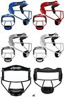 Champro Softball Fast Pitch Fielders Face Mask Youth. Adult Black White Blue Sil