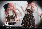 Lolita aristrocra​t Golden Ferris wheel wonderland Halter maid dress JI3016 BR