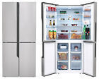 Hisense RQ562N4AC1 Freestanding Frost Free French Door Food Centre Fridge Freeze