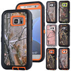Realtree Camo Hybrid Rugged Case For Samsung Galaxy S4 S5 S6 S7 Edge Note 5 4 3