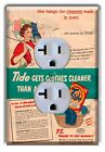 Laundry Room Wall Decor Light Switch Plate Cover Tide