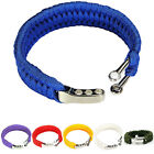 Durable Outdoor Military Survival Bracelet Cord Wristband For Camping 7Colours