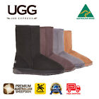 UGG Boots Short Classic Men Big Size, 100% Australian Made,Premium Sheepskin