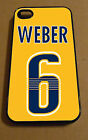 "Iphone 4/4S 5/5C/5S 6(4.7"") 6 Plus Shea Weber Nashville Predators NHL Case $45.99 USD on eBay"