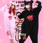 Gloomy Bear Kigurumi Pajamas Anime Cosplay Costume Unisex Adult Onesie Sleepwear