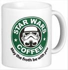 Froth Be With You Star Wars Coffee Mug Tea Cup $13.95 USD on eBay