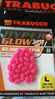 Surf fishing beads Trabucco hyper glow Super Soft  4 colours 2 sizes easy use