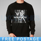 YOU CANT SIT WITH US RIHANNA MODEL TRAPSTAR G4LIFE COMME RINAVY SWEATSHIRT