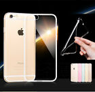 Soft Silicone Transparent Clear TPU Cover Case for iPhone/Galaxy/Huawei/HTC/Sony