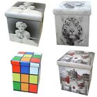 36cm Storage Boxes - Choose option required - London - Rubik's - Tiger - Marilyn