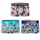 3 PCS  Men's Bulge Pouch Trunks Brief Soft Men Underwear Boxer briefs