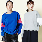"""2NEFIT"" Korea Women's Clothes Triangle Mtm Top Sweat Shirts T-011 Free size"