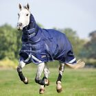 Shires Typhoon heavy weight turnout combo navy all sizes