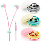 3.5mm In-Ear Headset Earphone Earbud Headphone For iPhone Samsung HTC Headphone