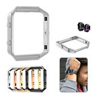 Stainless Steel Metal Watch Frame Holder Cover Case For Fitbit Blaze Smart Watch