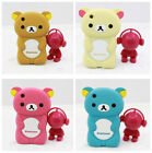 CUTE 3D BEAR RUBBER SILICONE CASE COVER for APPLE IPHONE 3 3GS