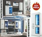 Modern Living Room Furniture Set TV Unit Shelf Cabinet Wall Cupboard Stand Gloss