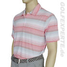 ADIDAS GOLF HERREN CLIMALITE POLOSHIRT MIN STRIPES WHITE CHROME