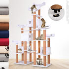 Cat Scratching Post Tree Climbing Kitten Toy Bed Activity Centre Large 214 cm
