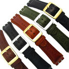 Leather Watch Strap for Swatch Irony Chrono 19mm by CONDOR Camel Grain SC14