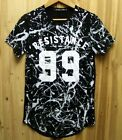 NEW graffiti hip-hop men's sleeve t-shirt clothes casual man Short sleeve M-L.XL