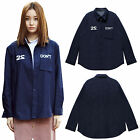2NEFIT Korea Women's Clothes Long Sleeve Don`t Denim T Shirts SH009 Free Size