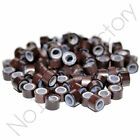 1000pc 4mm 4.5mm 5mm Silicone Lined Micro Rings/Beads for i-Tip Hair Extensions