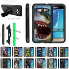 For Samsung Galaxy J3 / Amp Prime / Express Prime Case Holster Clip Armor Stand