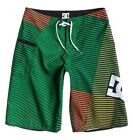 "DC SHOES NEW Boy's Boardshorts Green 19"" Age 11-12 BNWT"
