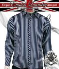 ENGLISH LAUNDRY weiland men's BAKERSFIELD silver stripe dress shirt EWW052