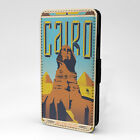 Vintage Countries Posters PC Leather Flip Case Cover - Ancient Egypt - S-T2618