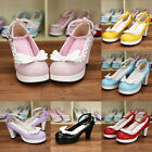 Gothic Goth Sweet Lolita Schuhe Shoe Pumps High Heel kawaii Cosplay Kostüm Anime