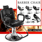 Hydraulic Reclining Barber Chair Salon Hair Styling Beauty Spa Shampoo Equipment