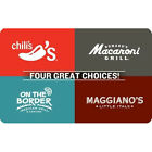 Get a $50 Brinker 4-Choice Gift Card for only $40 - Email delivery