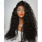 Afro Wigs 100% Brazilian Human Hair curly  Lace Front Full ace Wigs Baby Hair
